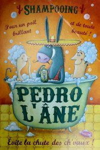 (Pedro l' âne, Amandine Piu, Les Editions de Mai)