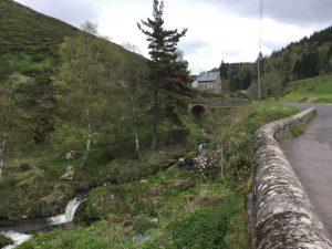 Waldweg Nähe Cheylard