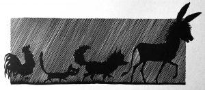 Illustrationen von Werner Klemke, Kinderbuchverlag Berlin, 1963, S. 454